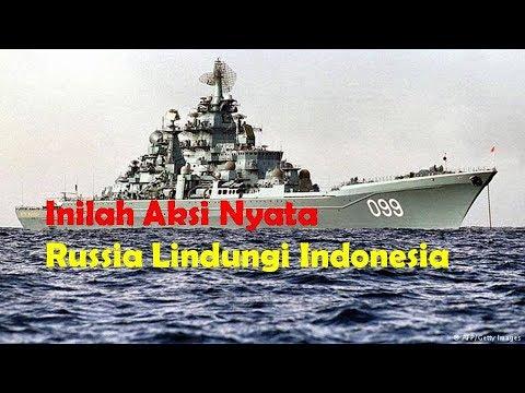 Inilah Aksi Nyata Rusia Lindungi Indonesia