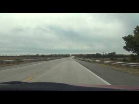 Car Camera - U.S. 75 - Nebraska City to Auburn, NE . 2013 ( アメリカ国道75号線 )