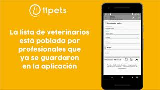 Gestiona las visitas veterinarias con 11pets: Cuida tu mascota | Android