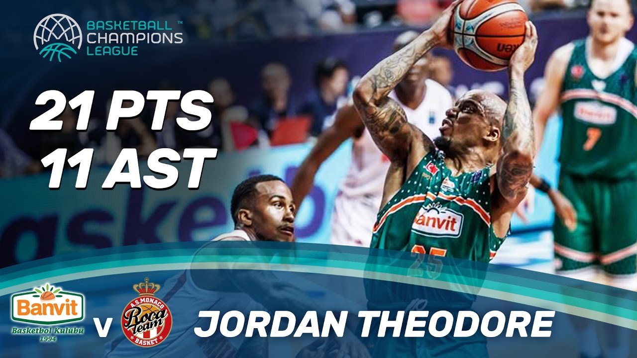 Jordan Theodore (21pts / 11ast) with a double-double in the semi-finals!