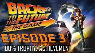 Back to the future the game | episode 3 (all trophies / achievements) 30th anniversary walkthrough