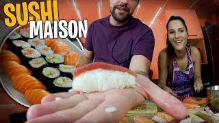 Je fais des Sushis pour la première fois...🍣