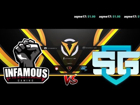 Infamous Gaming vs SG esport //China Dota2 Supermajor - Clas