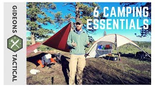 6 Camping Essentials: Cąmp Like A Boss