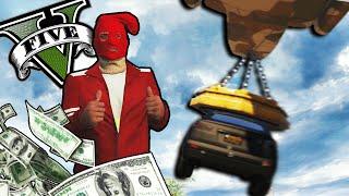 GTA 5 Online - UN ATRACO IMPRESIONANTE! - los peores atracadores de bancos xD - NexxuzHD
