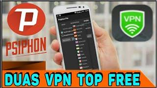 Duas VPN ILIMITADAS e Com Vários Países 100% Free