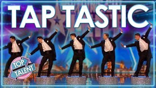 TERRIFIC TAP Dancing Auditions From Around The World! | Top Talent