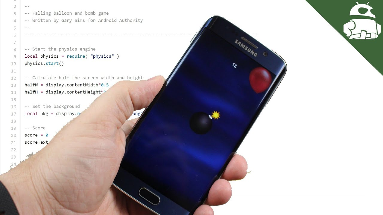 Writing your first Android game using the Corona SDK