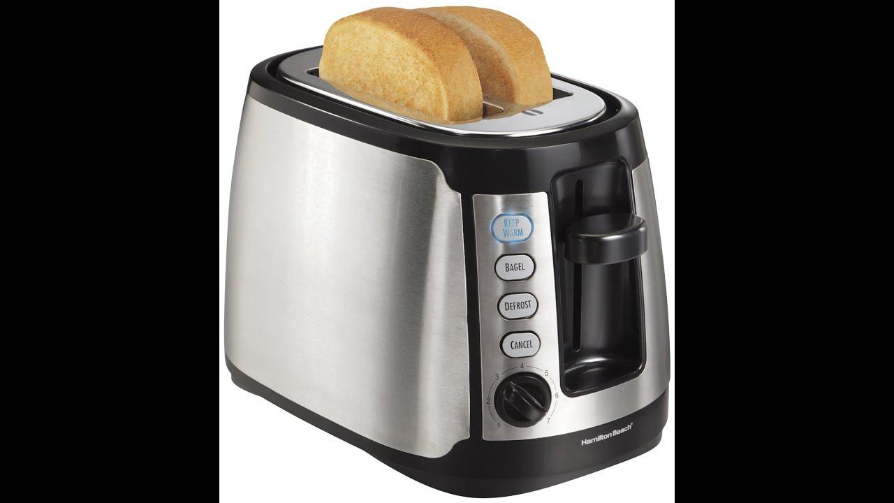 Review Hamilton Beach 22811 Keep Warm 2 Slice Toaster By