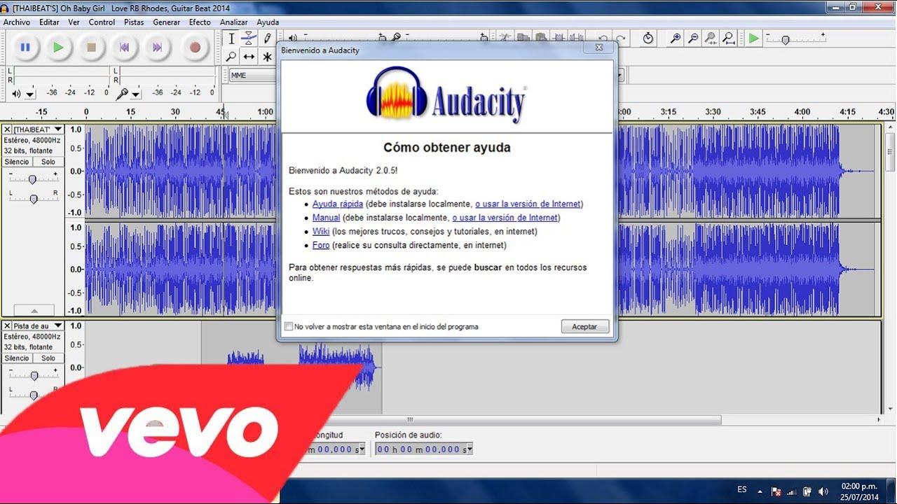 Descargar programa para grabar canciones de rap.