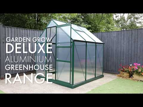 Garden Grow Deluxe Aluminium Greenhouse Range