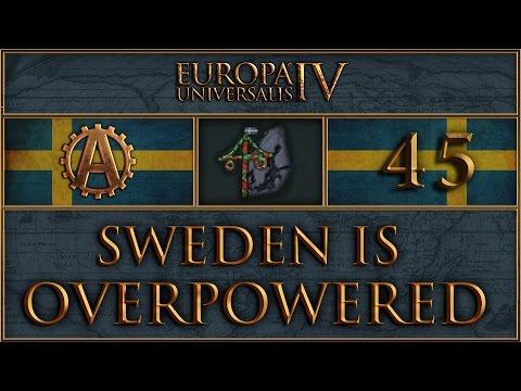 EUIV Sweden is Overpowered 45