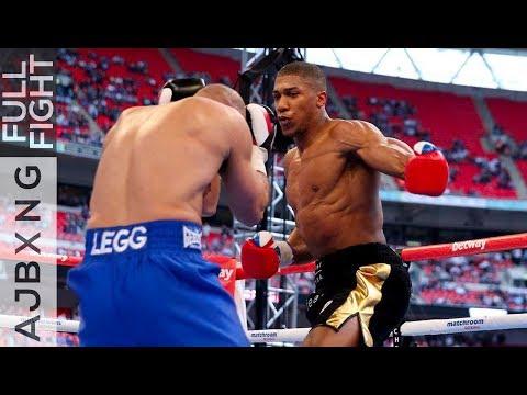 Full Fight | Anthony Joshua Vs Matt Legg KO