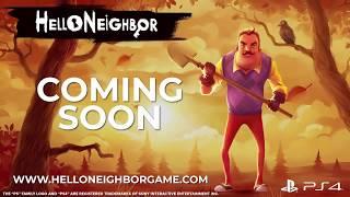 Hello Neighbor – Announce Trailer  PS4
