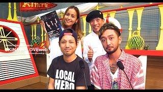 2016年10月7日放送分の収録後のNHK-FM 番組沖縄ミュージックジャーニー...