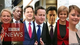 Election 2015: 7 leaders, 7 quotes - BBC News