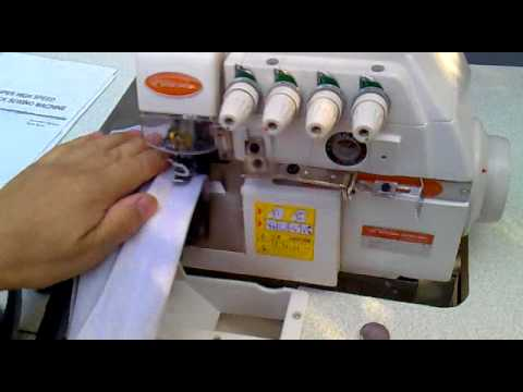 Оверлок Spark Special-747D 4-х ниточный Серво Sewing machine-overlock Швейная машина.