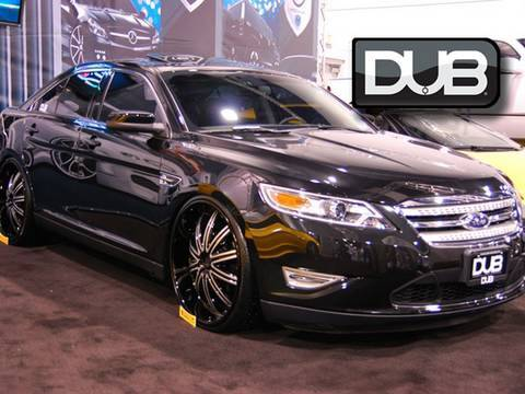 The Celebrity Take On The New Dub Edition Ford Taurus Sho