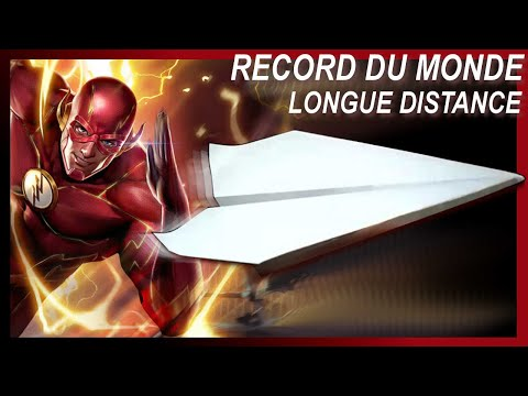 Comment Faire Un Avion en Papier - Record du Monde De Distance Le Plus Long - Avion #8