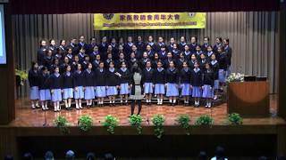 hktlc的本校合唱團表演相片