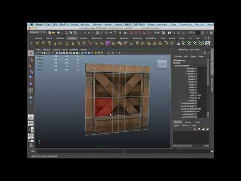 Image Based Modelling (Autodesk Maya)
