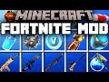 Minecraft FORTNITE MOD | BATTLE FOR V-BUCKS! | Modded Mini-Game