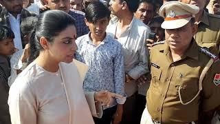 ओसिया विधायक दिव्या मदेरणा ने कहा भृष्ट अधिकारियों के लिए काल नही महाकाल बनकर आयी हूँ।देखे वीडियो