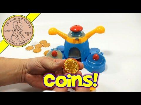 Golden Chocolate Coin Maker Set! Kids Candy Maker