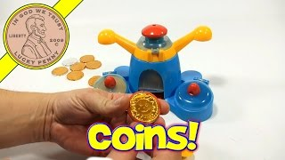 Golden Chocolate Coin Maker Set! Kids Candy Maker