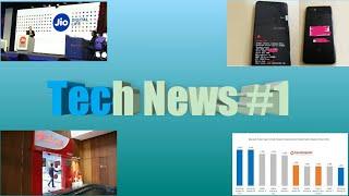 Tech news #1 google pixel 3 xl, airtel new offer, samsung galaxy s9 plus, jio || by Techno Rupesh