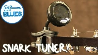 Snark Guitar and Bass Clip on Tuner