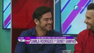 ¡Camila Rodrigues y Sidney Sampaio en El Resumen!