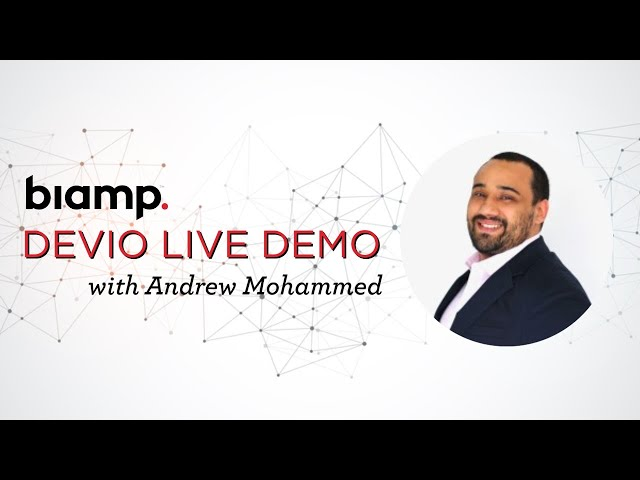 Devio Demo with Andrew Mohammed