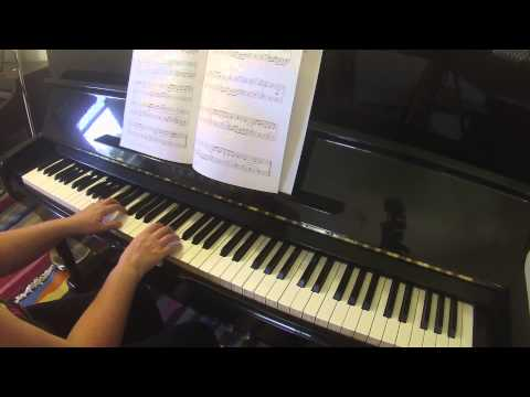 Canon in F Major op 14 no 95 by Konrad Kunz RCM Celebration Series piano repertoire grade 2 2015