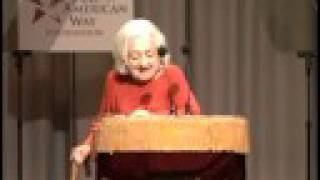 Betty Friedan in 2004 Dramatic Reading of the US Constitution - 19th amendment