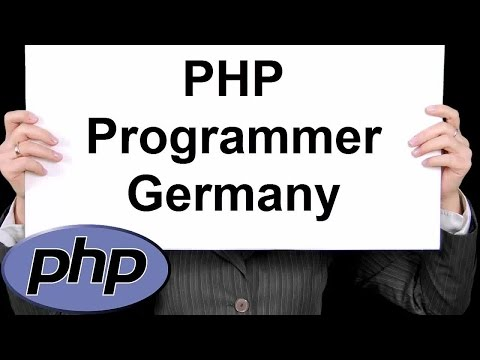 PHP Programmer Germany 888-411-2221 - Professional PHP Development