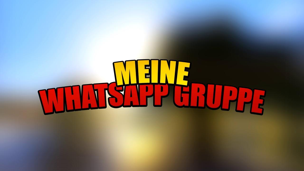 Gruppe Whatsapp