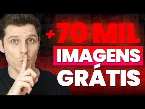 MAIS de 70 MIL Imagens, Vídeos e Vetores Para Você Baixar de GRAÇA!
