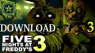 Download Five Nigths at Freddy's 3 - SPECIALE 5 ISCRITTI + NEWS