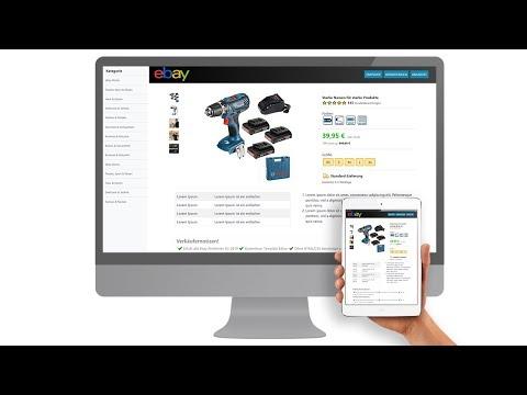 Free EBay Template Listing Template HTML Mobile Responsive Design 2020 Ebay Kostenlose Vorlage