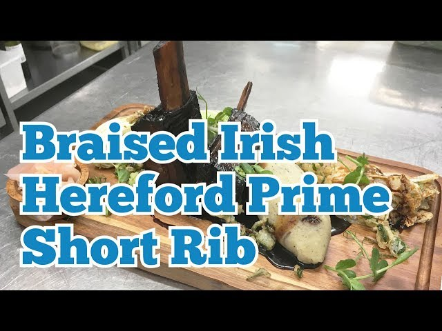 KITCHEN CRAFT  - Braised Irish Hereford Prime Short Rib & Sweet Soy Glaze