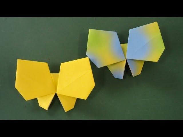 折り 折り紙:蝶々 折り紙-youtube.com