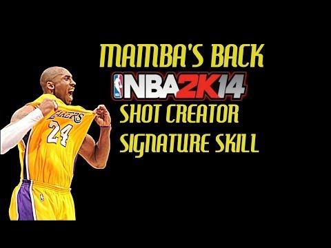 NBA 2K14 Tips - Shot Creator Signature Skill - Featuring Kobe Bryant