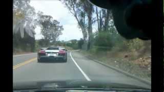 Honda Accord VS Lamborghini Murcielago. EXOTIC CARs RACING, TOUGE FUN!!