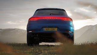 The new Porsche Macan Turbo Debut in Forza Horizon 4