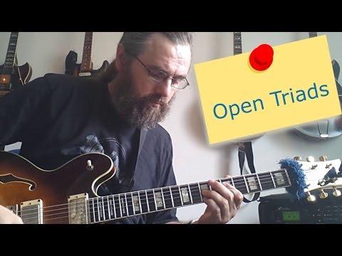 Jazz Chord Essentials: Open Triads