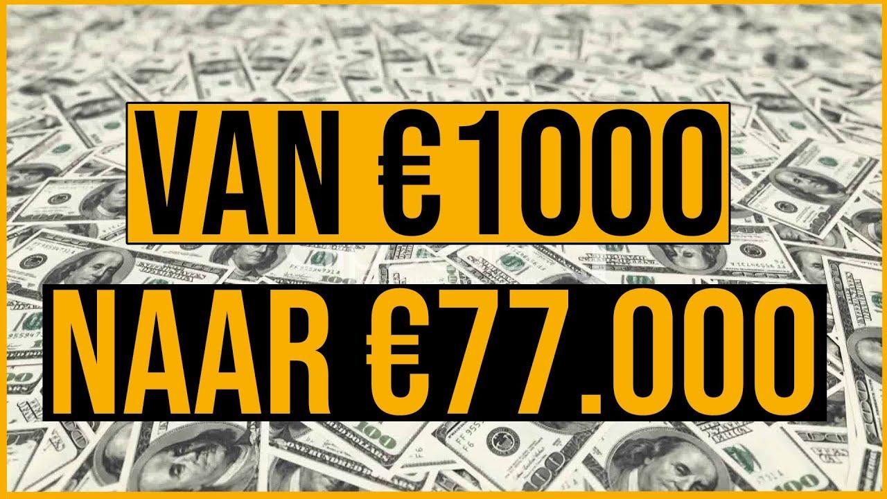 Download ZONDER VEEL MOEITE VAN €1000 NAAR €77.000 DOOR TE INVESTEREN IN AANDELEN