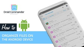 Ashampoo Droid Commander — Organize files on the Android device screenshot 4