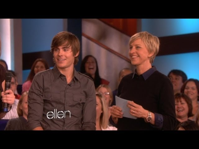 Memorable Moment: Zac Efron Plays Zac or Smack