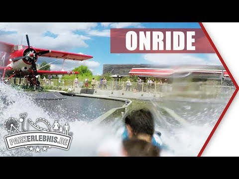 Neu 2017: Atlantique Sud | Parc du Petit Prince | Wildwasserbahn - POV OnRide